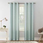The Big One® Decorative 2-pack Diamond Window Curtains