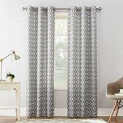 The Big One® Decorative 2-pack Diamond Window Curtains