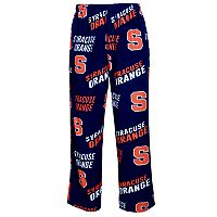 Men's Concepts Sport Syracuse Orange Grandstand Fleece Pants