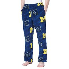 Men's Concepts Sport Michigan Wolverines Grandstand Fleece Pants