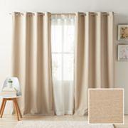 LC Lauren Conrad Antigua Room Darkening Lined Window Curtain