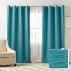 LC Lauren Conrad 1-Panel Antigua Room Darkening Lined Window Curtain