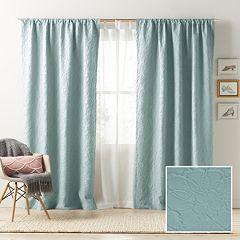 LC Lauren Conrad Blackout 1-Panel Bloomfield Lined Window Curtain