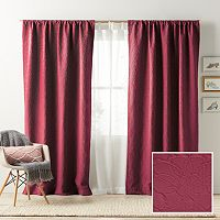 LC Lauren Conrad Bloomfield Room Darkening Lined Window Curtain