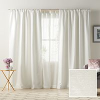 LC Lauren Conrad Twilight Room Darkening Lined Window Curtain