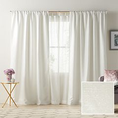 LC Lauren Conrad 1-Panel Twilight Room Darkening Lined Window Curtain