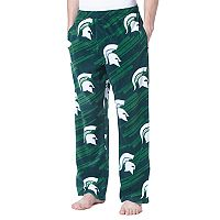 Men's Concepts Sport Michigan State Spartans Grandstand Fleece Pants