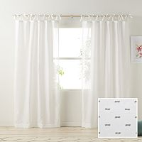 LC Lauren Conrad Gabby Sheer Window Curtain