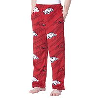 Men's Concepts Sport Arkansas Razorbacks Grandstand Fleece Pants