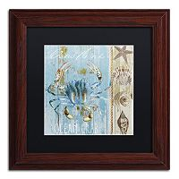 Trademark Fine Art Blue Crab II Framed Wall Art