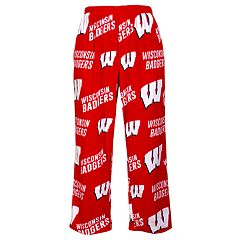 Men's Concepts Sport Wisconsin Badgers Grandstand Lounge Pants