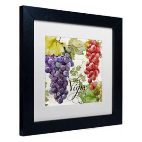 Trademark Fine Art Wines Of Paris I Black Framed Wall Art