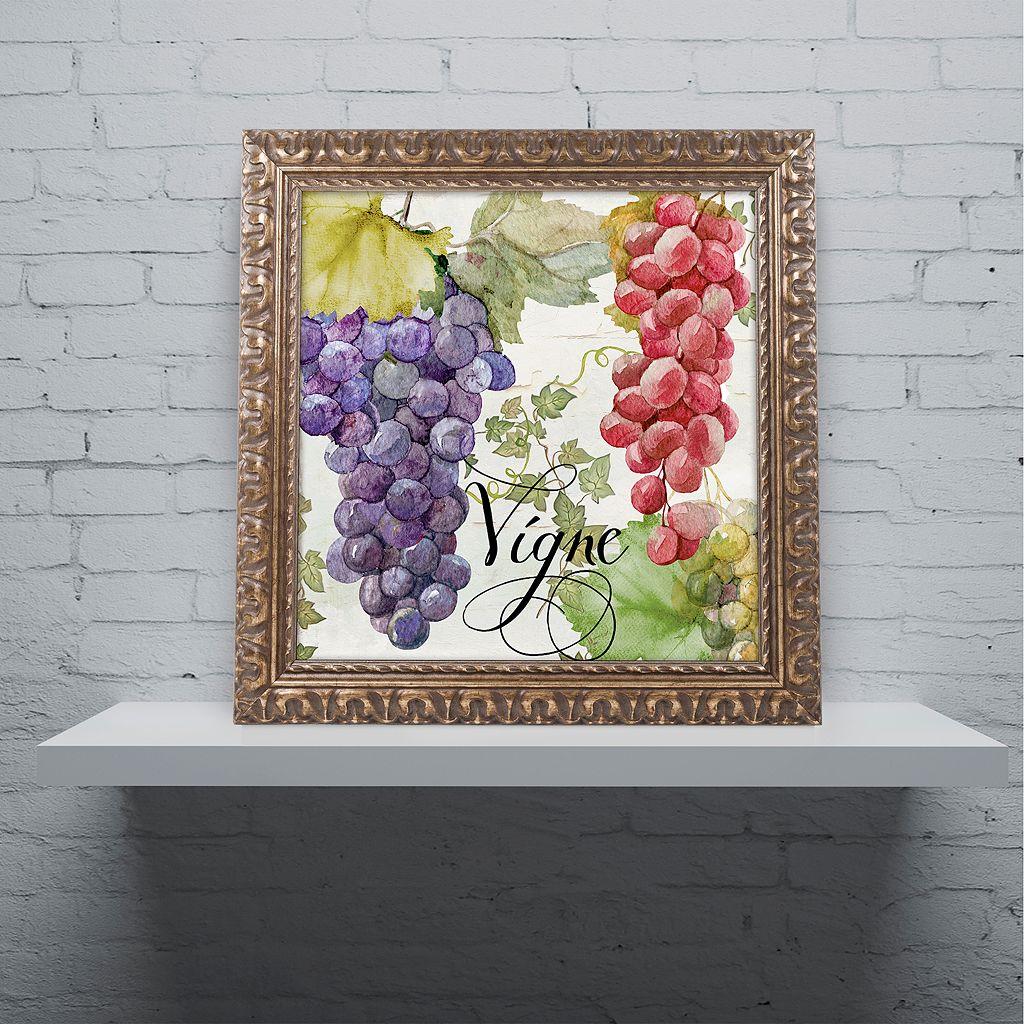 Trademark Fine Art Wines Of Paris I Ornate Framed Wall Art