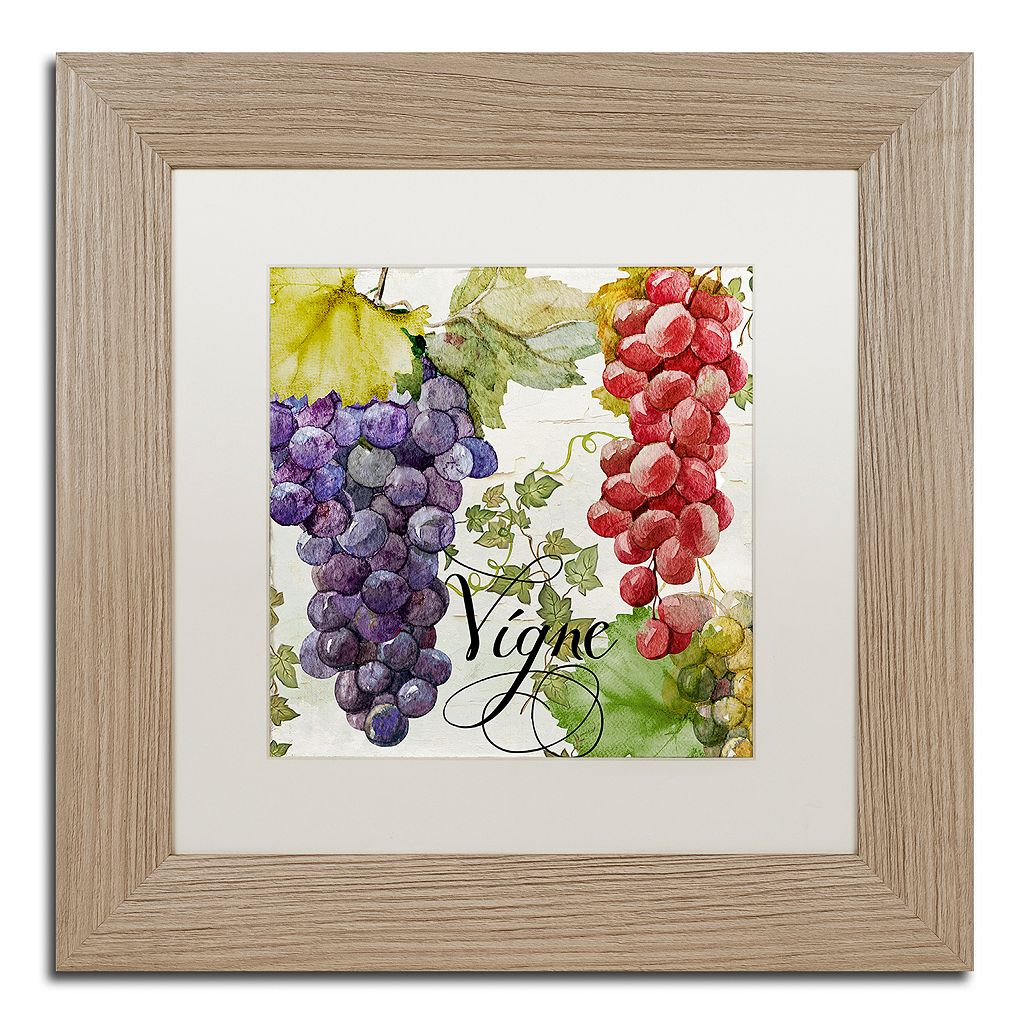 Trademark Fine Art Wines Of Paris I Distressed Framed Wall Art