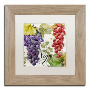 Trademark Fine Art Wines Of Paris I Distressed Framed Wall Art