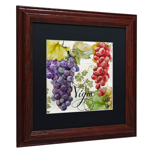 Trademark Fine Art Wines of Paris I Framed Wall Art