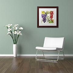 Trademark Fine Art Wines of Paris I Framed Wall Art