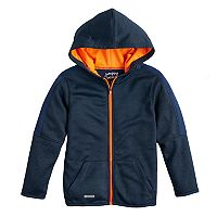Boys 4-10 Jumping Beans® Striped Zip Jacket