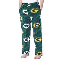 Men's Concepts Sport Green Bay Packers Grandstand Fleece Pants