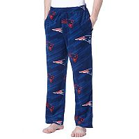 Men's Concepts Sport New England Patriots Grandstand Fleece Pants