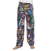 Men's Star Wars Magic Scene Microfleece Lounge Pants