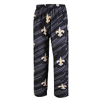 Men's Concepts Sport New Orleans Saints Grandstand Lounge Pants
