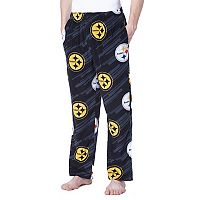 Men's Concepts Sport Pittsburgh Steelers Grandstand Fleece Pants