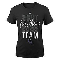 Girls 7-16 Majestic Colorado Rockies Root Root Tee