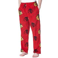 Men's Concepts Sport Chicago Blackhawks Grandstand Fleece Pants