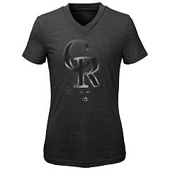Girls 7-16 Majestic Colorado Rockies Slider Tee
