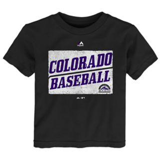 Toddler Majestic Colorado Rockies Out of the Box Tee