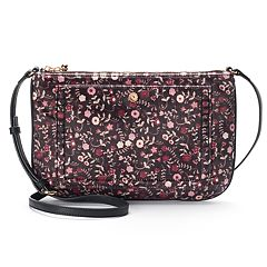 LC Lauren Conrad Bonne Floral Crossbody Bag
