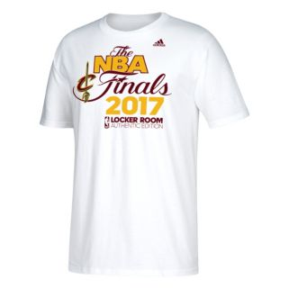 Men's adidas Cleveland Cavaliers 2017 Conference Champions Onto the Finals Locker Room Tee