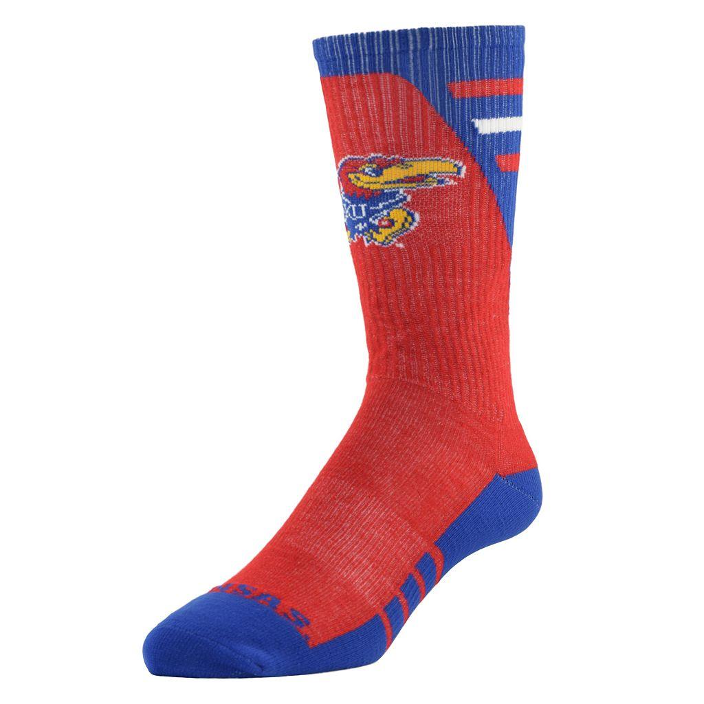 Men's Mojo Kansas Jayhawks Energize Crew Socks