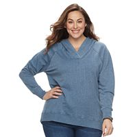 Plus Size SONOMA Goods for Life™ Raglan Hoodie