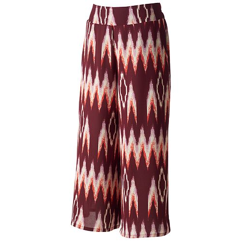 Juniors' About A Girl Woven Culottes