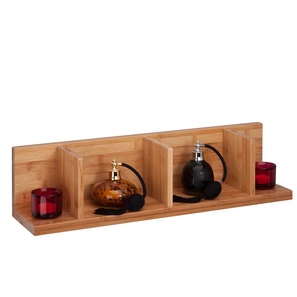 Honey-Can-Do Large Sectioned Wall Shelf