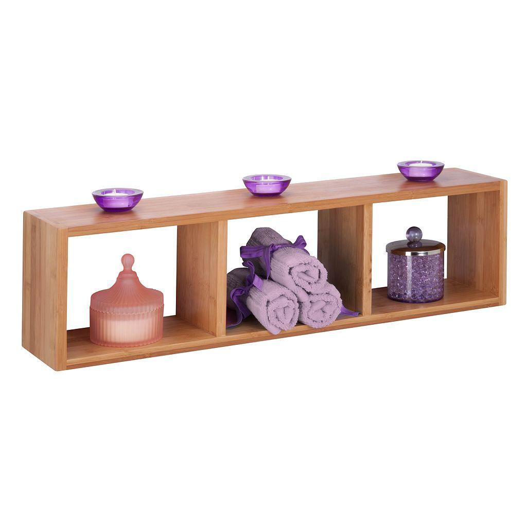 Honey-Can-Do Triple Cube Wall Shelf