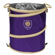 Logo Brands Orlando City SC Collapsible 3-in-1 Trashcan Cooler