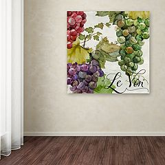 Trademark Fine Art Wines Of Paris II Canvas Wall Art