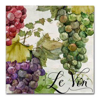 Trademark Fine Art Wines Of Paris II Canvas Wall Art