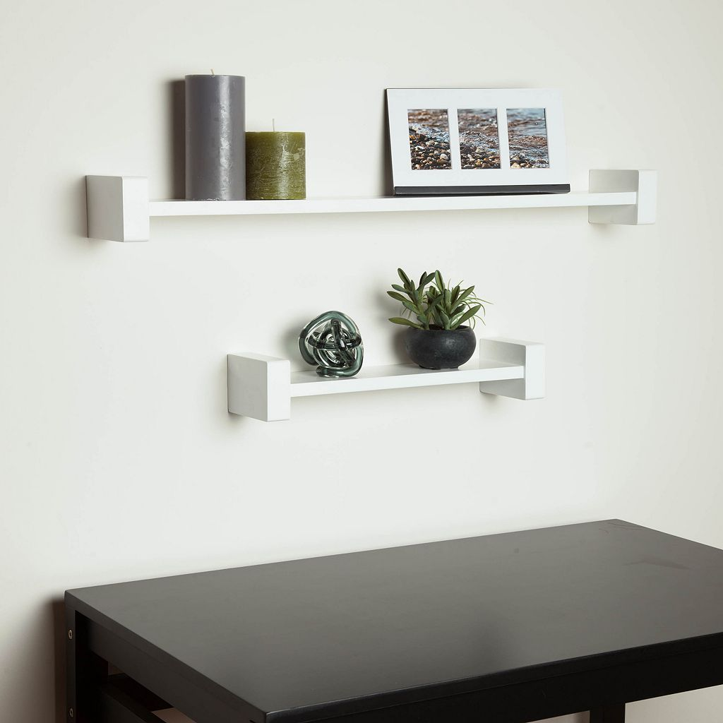 Honey-Can-Do H Shape Wall Shelf