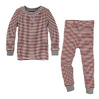 Toddler Burt's Bees Baby Organic Striped Family Pajama Set