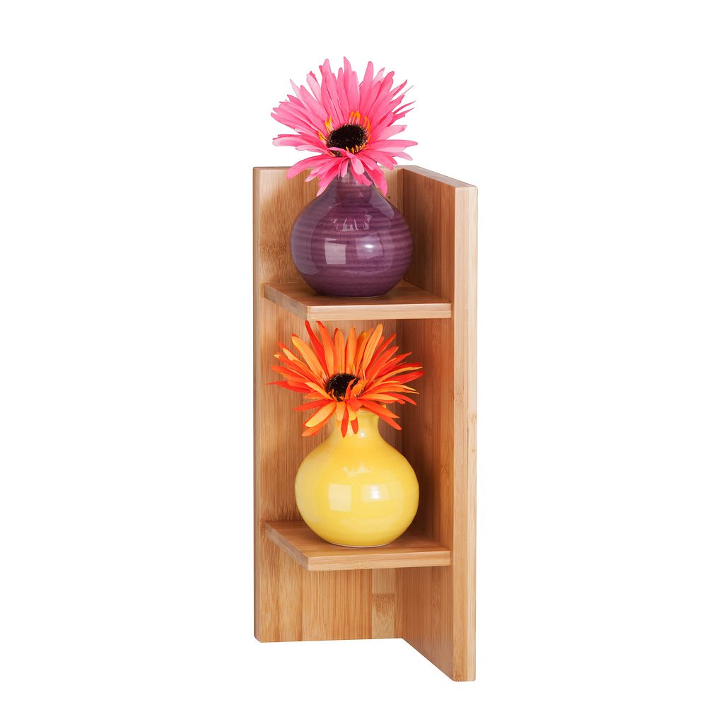 Honey-Can-Do Sectioned Wall Shelf