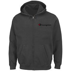 Big & Tall Men's Champion Full-Zip Fleece Hoodie