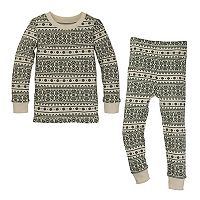 Toddler Burt's Bees Baby Organic Fairisle Family Pajama Set