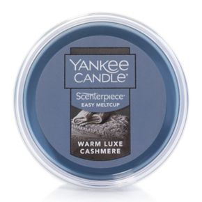 Yankee Candle Warm Luxe Cashmere Scenterpiece Wax Melt Cup