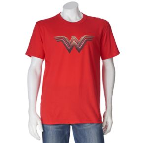 Men's DC Comics Wonder Woman Logo Tee