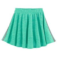 Girls 7-16 & Plus Size SO® French Terry Space-Dyed Circle Skirt