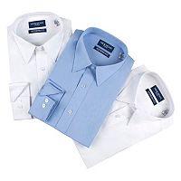 Men's Nick Graham Everywhere 3-pack Modern-Fit Dress Shirts
